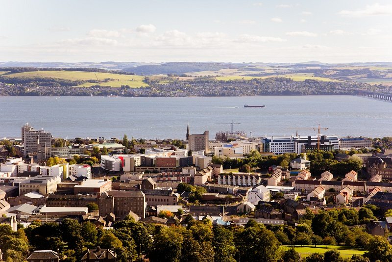 Dundee Top UK University Under 50