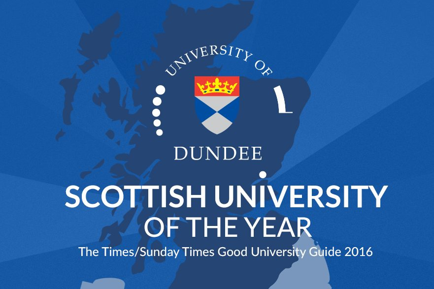 Scottish University of the Year – Thank You