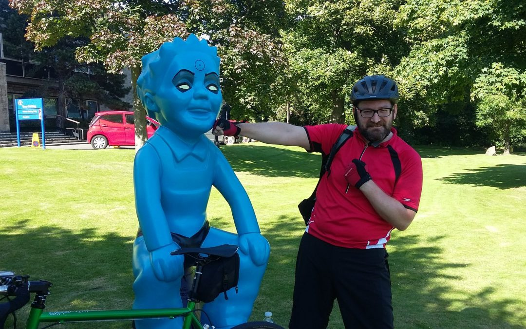 Cycling the Oor Wullie Bucket Trail