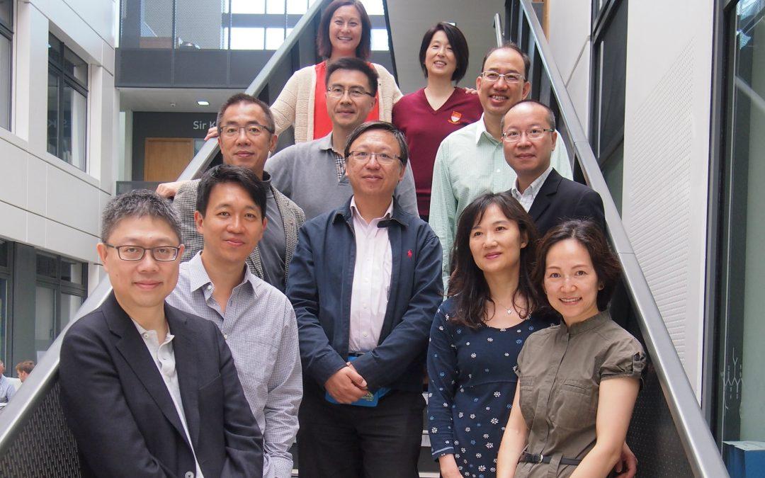 Chinese Alumni Visit