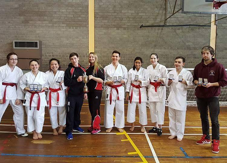 Karate Club Scottish Student Championships