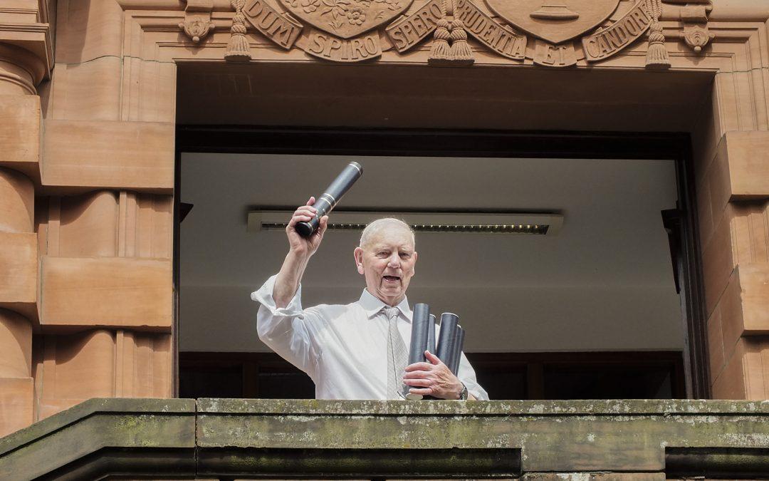 Scotland's oldest graduate returns to University