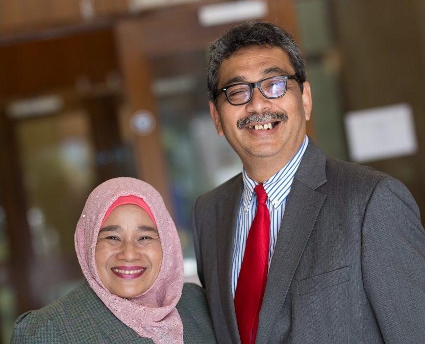 Welcoming back alumni Datuk Abu Bakar Bin Mohamad Diah