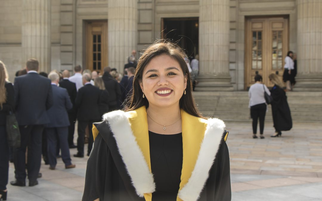 From Peru to Dundee to Russia… a graduate's journey