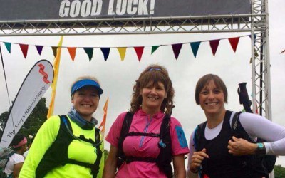 Cateran yomp success for University staff