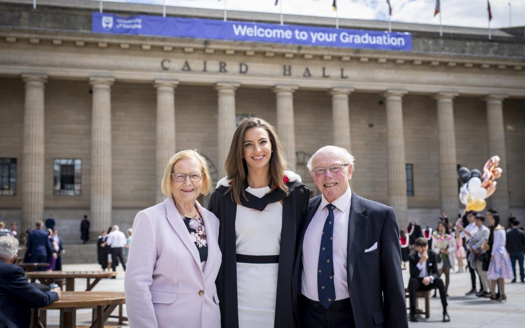 Grandparents return to Dundee to see granddaughter graduate