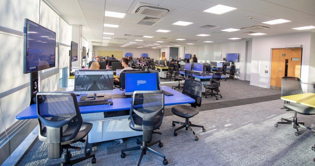 Photo of IT suite Dalhousie building