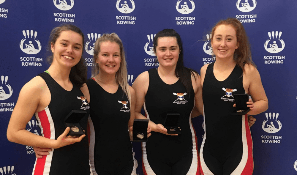 Clean sweep for student rowers at Scottish Championships