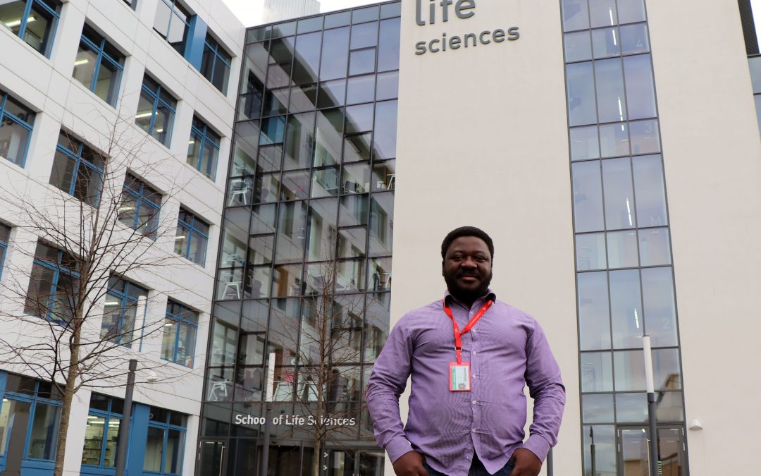 """One of the best decisions of my life"": Why Dundee has the right chemistry for Nigerian scientist"