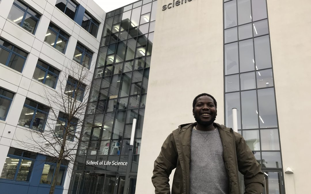 """I tried haggis and really liked it!"": Appetite for learning brings Malawian scientist to Dundee"
