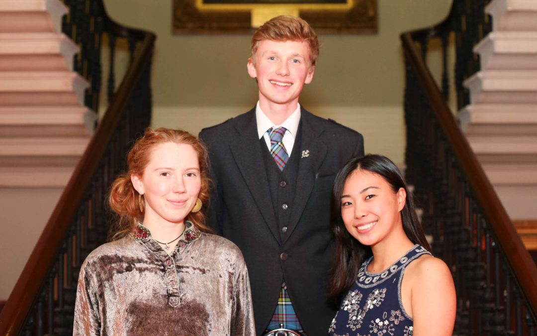 Dundee students take on the Undergraduate Awards in Dublin