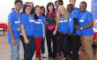 Here to help – Susan Scott, International Student Advisor, Student Services