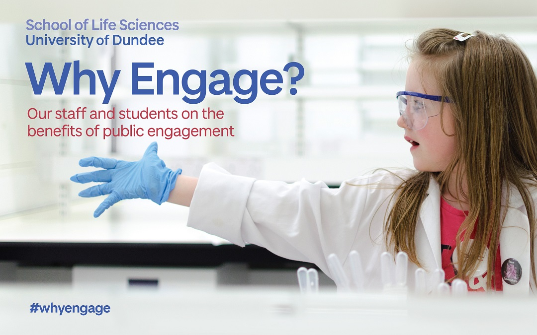 The front cover of the Why Engage? booklet.