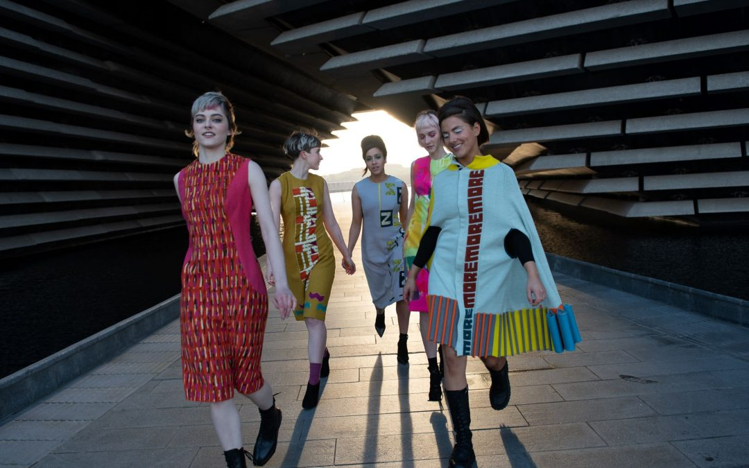 Mary Quant celebrated in V&A Dundee's first fashion photoshoot with DJCAD designers