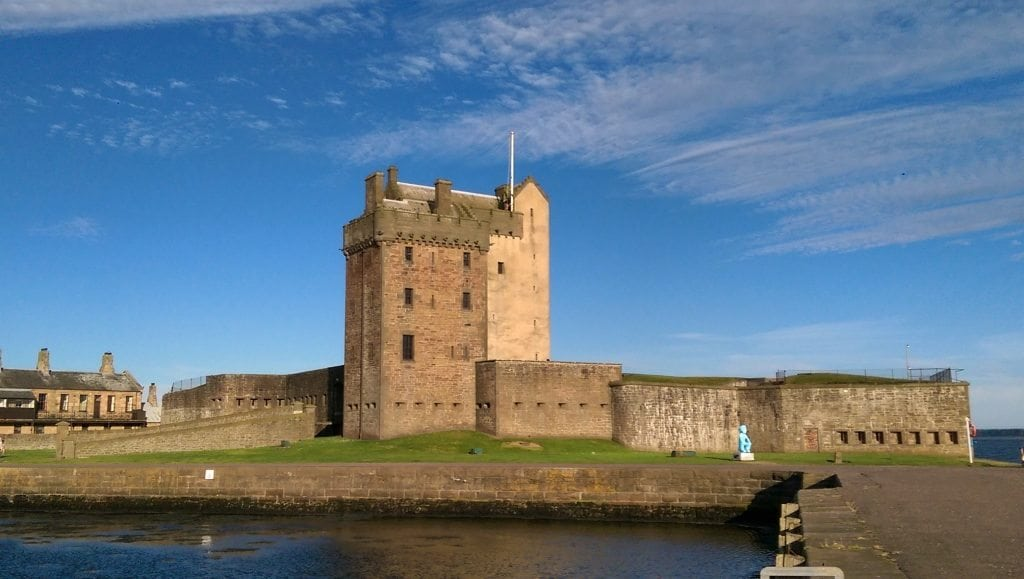 Broughty Ferry Castle - Scotland - August 2016