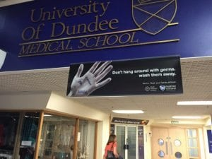 The Dundee Medical School Entrance