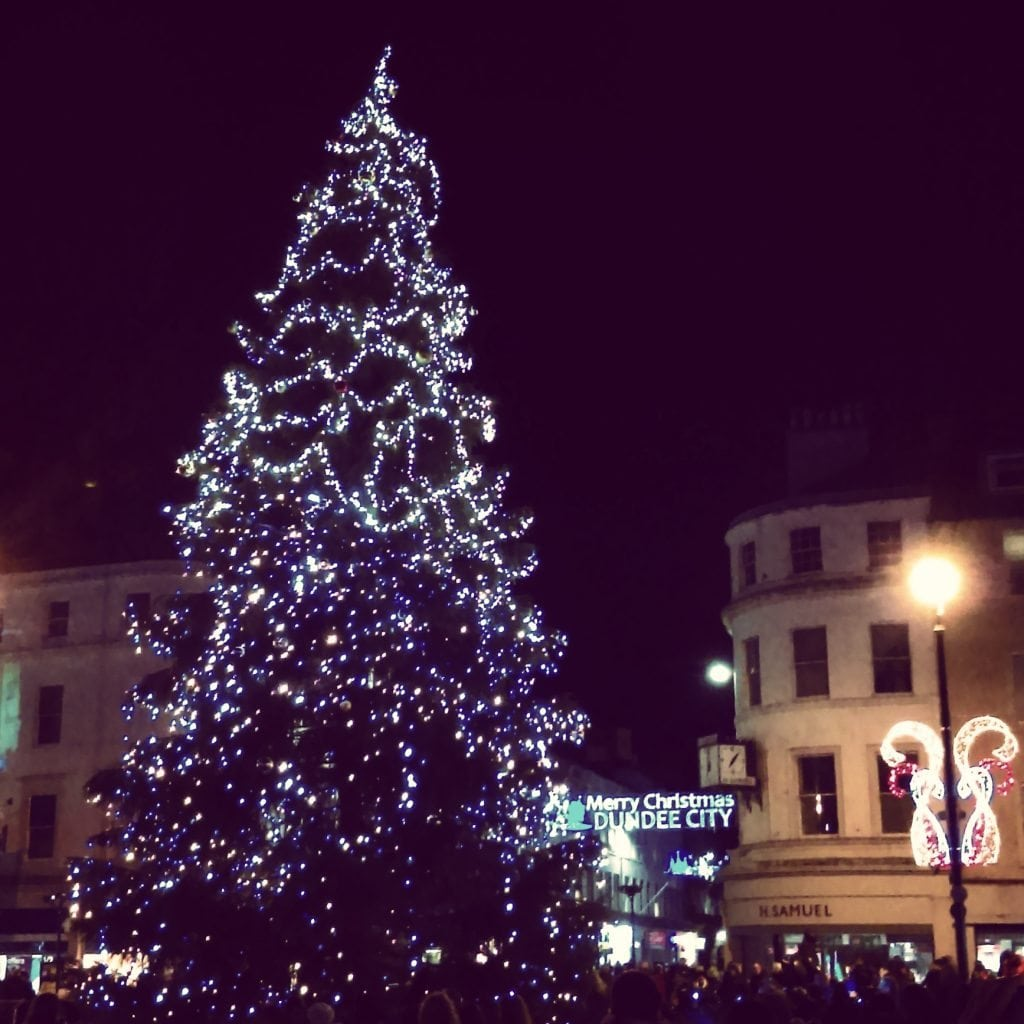 Dundee City Christmas Tree