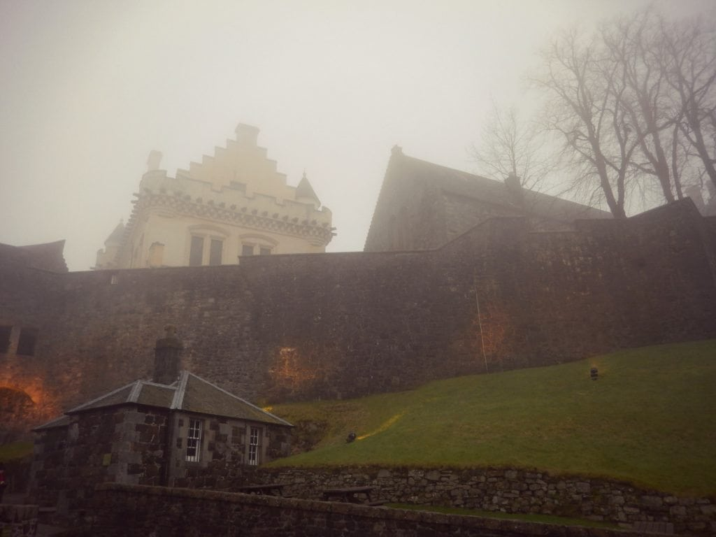 Just a small portion of Stirling Castle from the Nether Bailey