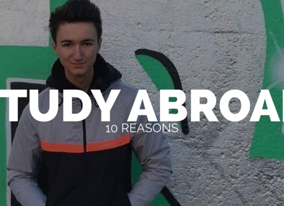 10 REASONS TO STUDY ABROAD