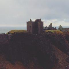 Castle on a Cliff: Dunnottar Castle