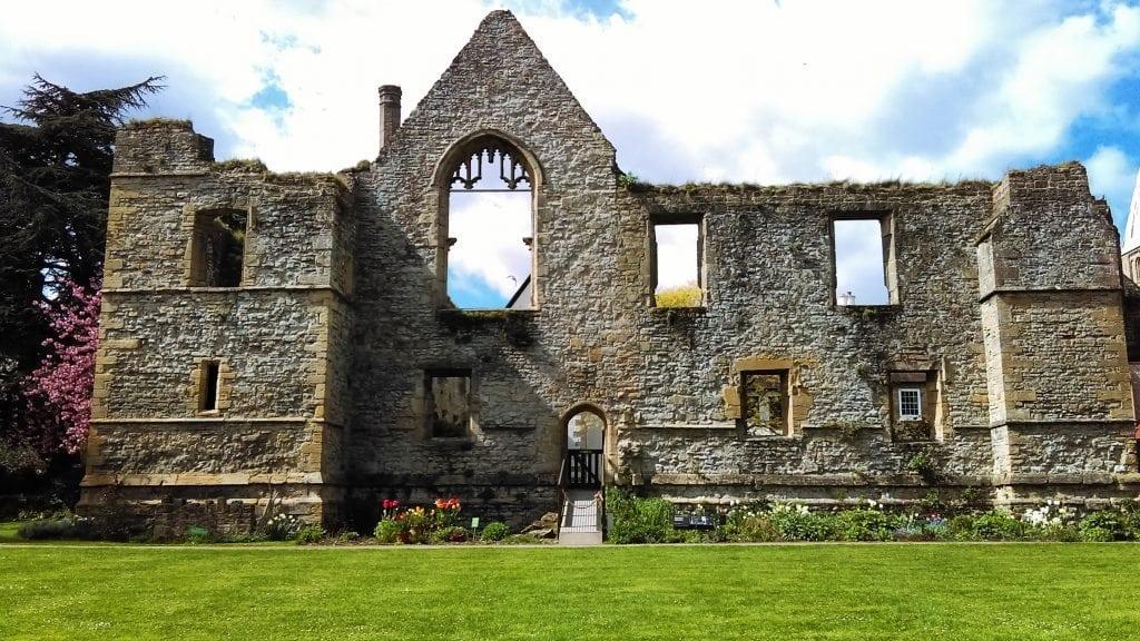 Southwell, England - Archbishop's Palace Garden