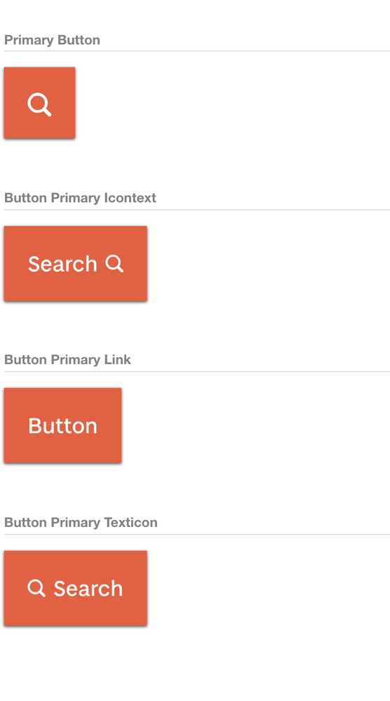 primary button in browser
